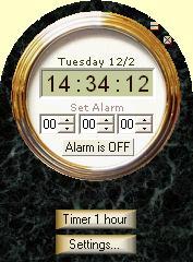 Alarm Video Clock